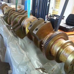 Crankshaft, assembly